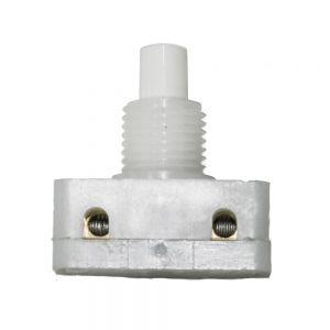 Interruptor de pulsador 135/B Blanco