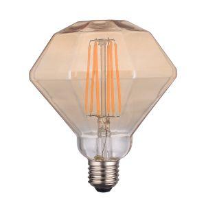Diamante LED Vintage LightED Decó Oro