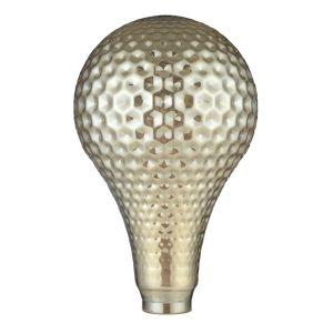 Cristal decorativo estilo pera dorado de LightED Decó