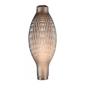 Cristal decorativo estilo tubular dorado de LightED Decó