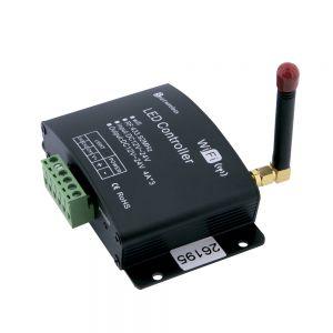 Controlador QLT Wifi + Radio Control RGB