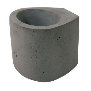 Aplique LED de cemento Bob