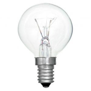 Esférica Incandescente E14 y E27 (Uso Industrial)