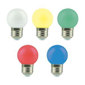 Bombillas LED Esféricas Decorativas de colores