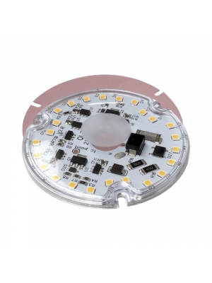 Módulo LED de QLT High Voltage Alu Round 230VAC 17,5W