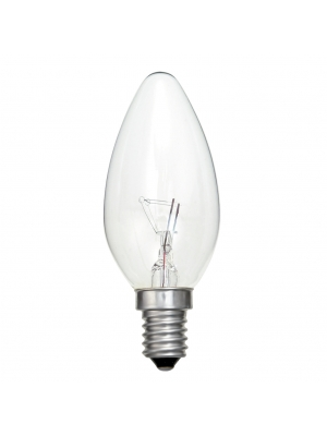 Flama Lisa Incandescente de Uso Industrial 40W y 60W
