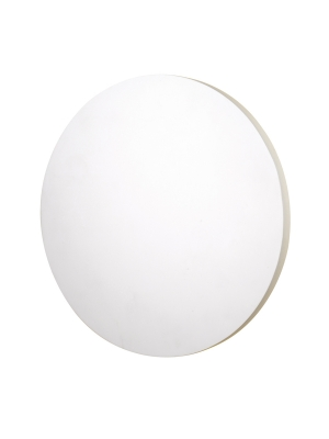 Aplique LED de yeso Gypsolite Moon