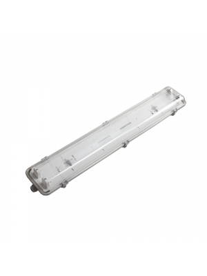 Pantallas Estancas LightED IP65 para 2 Tubos LED T8