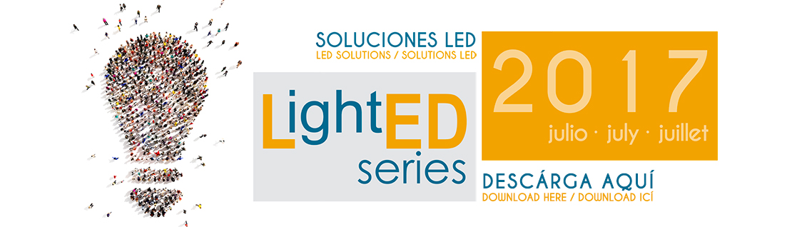 Catálogo LightED Series Julio 2017