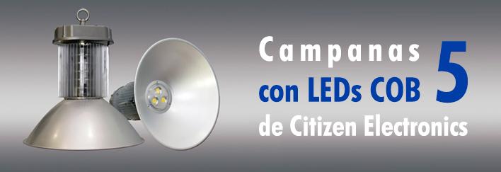 Nuevas Campanas Logaled con LEDs COB 5