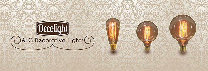 Decolight, nueva gama de bombillas decorativas