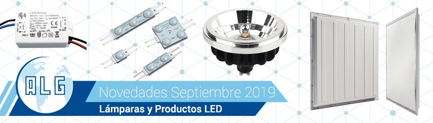 Novedades LED Septiembre 2019