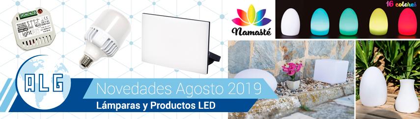 Novedades LED Agosto 2019