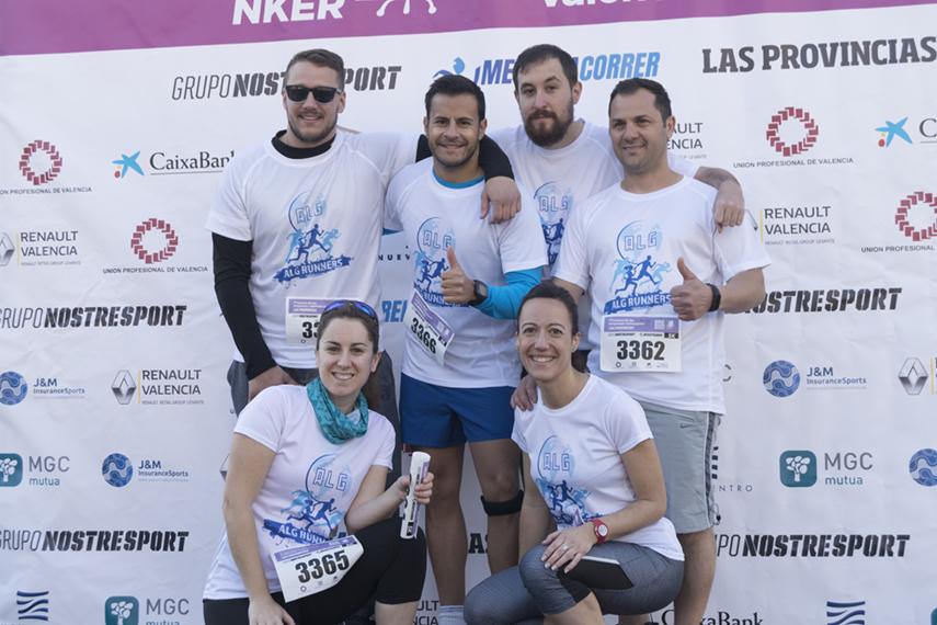 ALG Runners en el Photocall de la Carrera de las Empresas 2018
