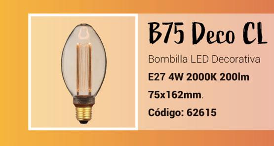 Bombilla B75 LED Deco de la Serie Classic