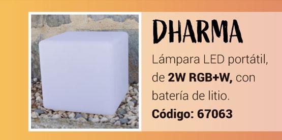 Cubo LED Dharma RGB de la Serie Namasté