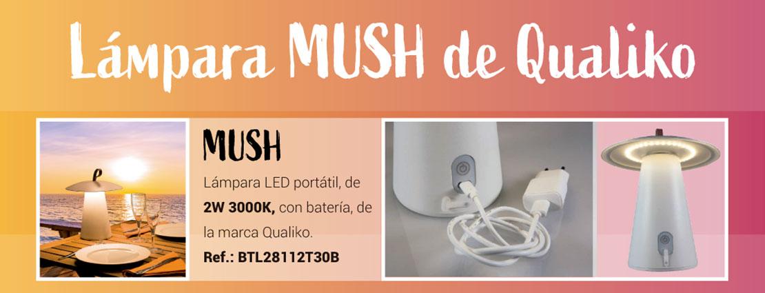 Lámpara MUSH de Qualiko