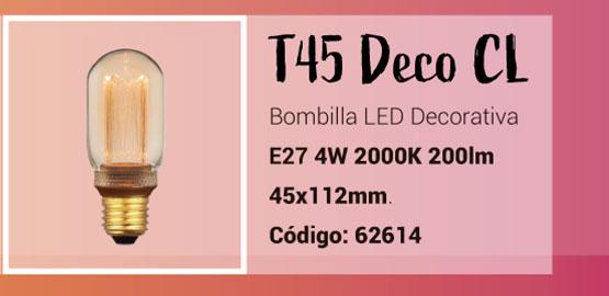 Bombilla T45 LED Deco de la Serie Classic