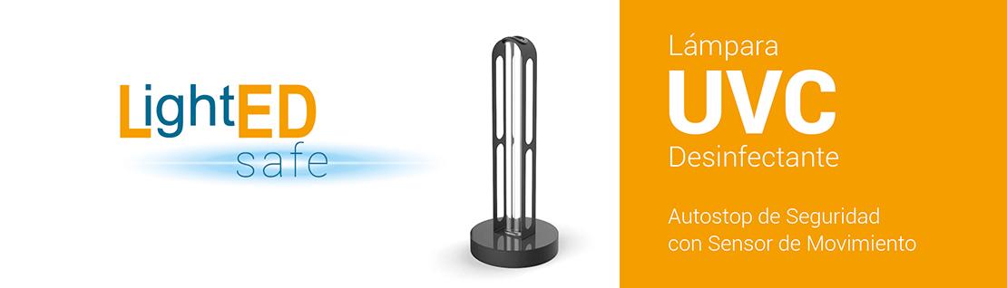 Lámpara Germicida UVC de LightED Safe