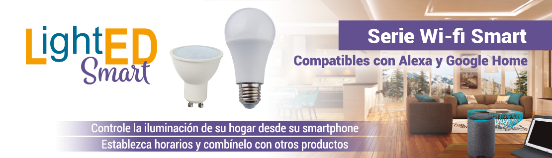 Bombillas LightED Wifi Smart