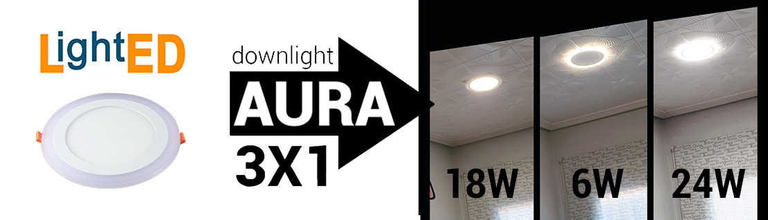 Downlight LED Aura