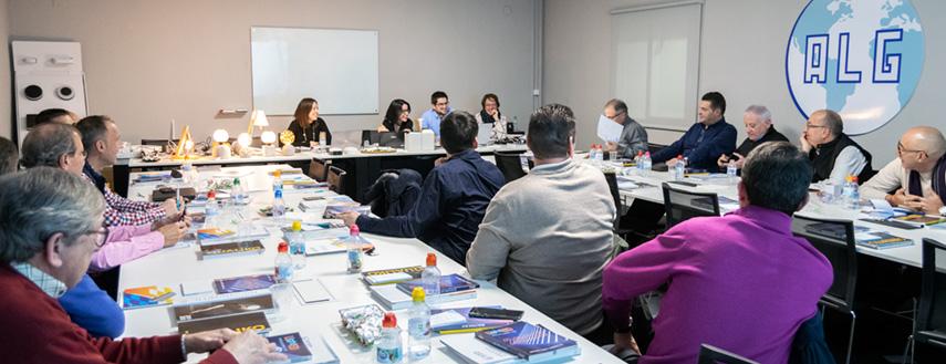 Presentación de producto nuevo de ALG en la Convención Anual de Representantes 2020