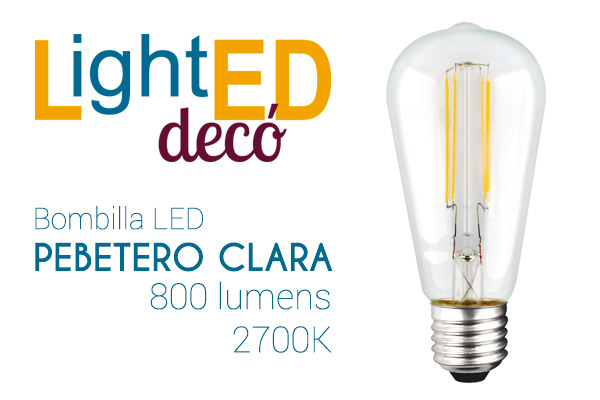 Nueva Pebetero LED LightED Decó Clara