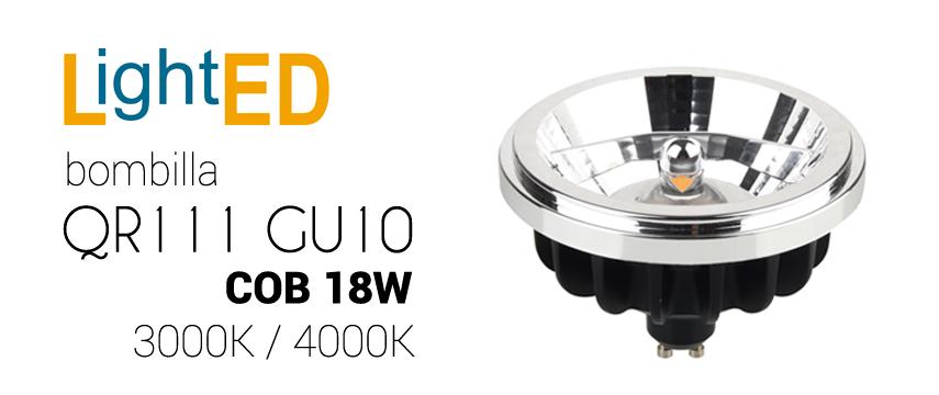 Bombilla LED QR111 GU10-H 18W
