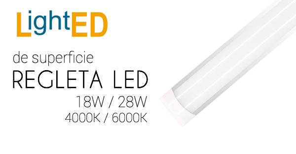 Regletas LED de superficie, ideales para la cocina