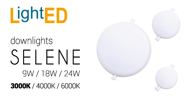 Downlights Selene en 3000K