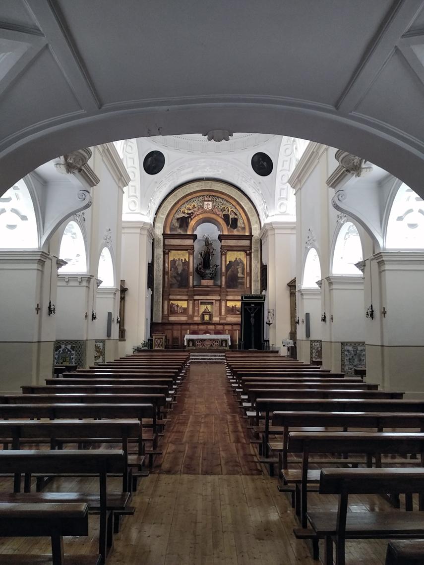 Capilla de la Iglesia del siglo XVII del Convento de los Carmelitas Descalzos de Toledo