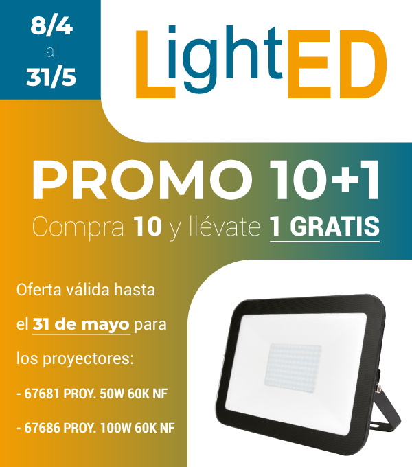 Promo 10+1 en Proyectores LED