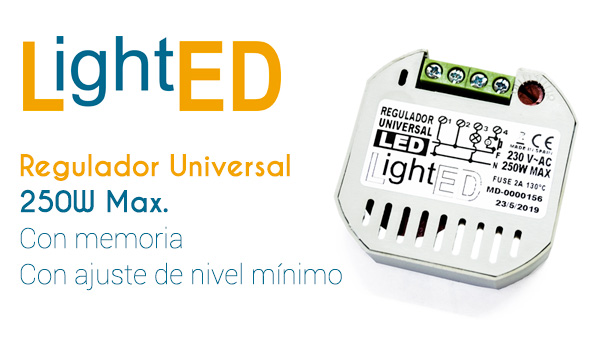 Regulador Universal de LightED