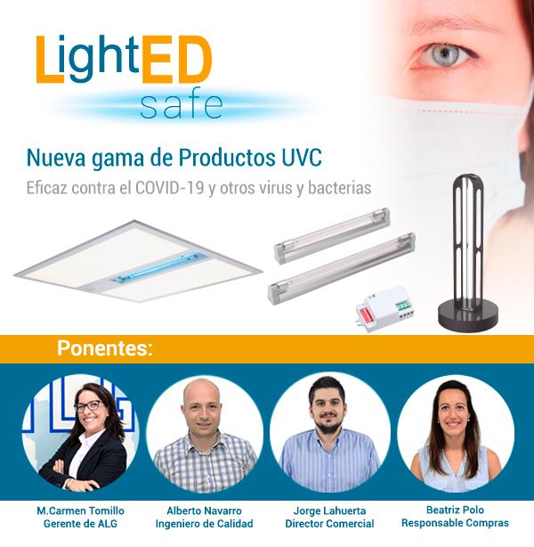 Webinar Productos Germicidas UVC